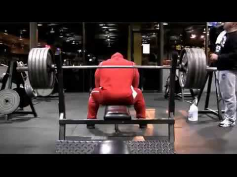 kai greene bench press