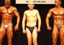 average bodybuilder