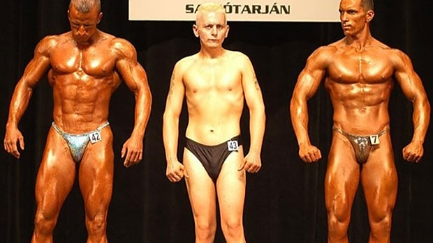 average bodybuilder