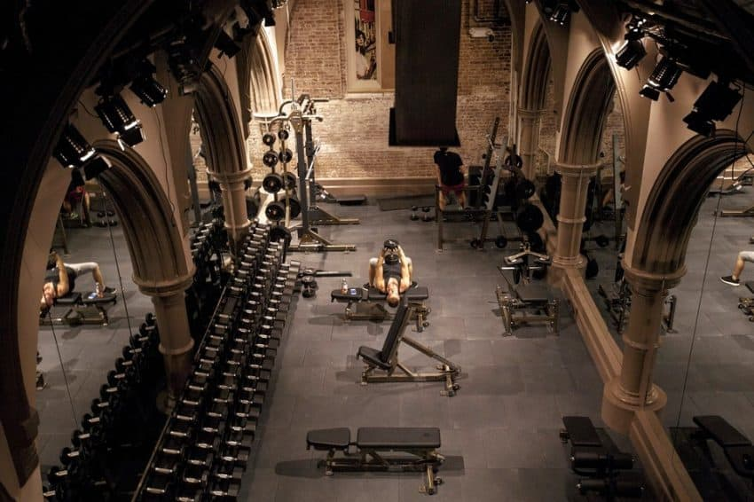 church gym