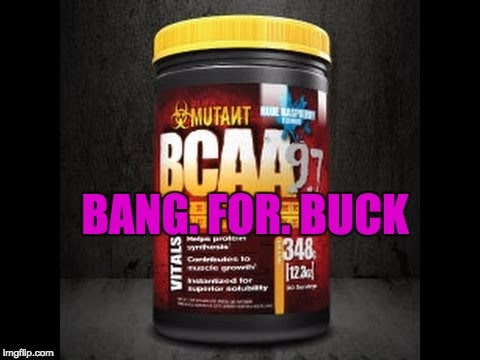 mutant bcaa 9.7 review