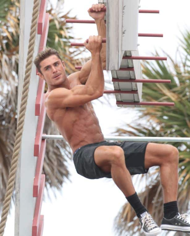 zac efron workout regimen