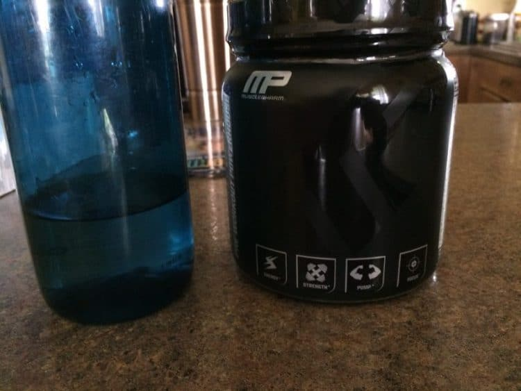 musclepharm assault black review