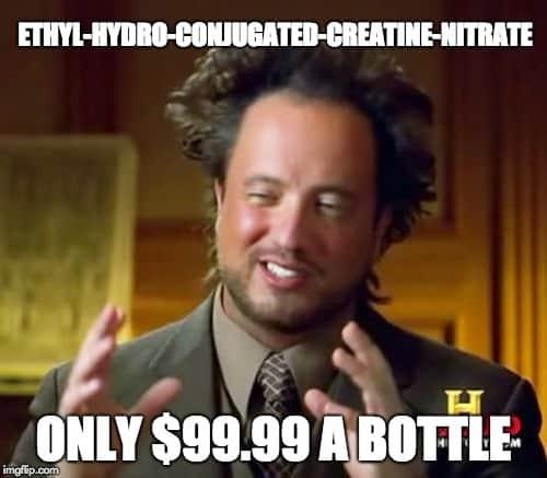 overpriced creatine