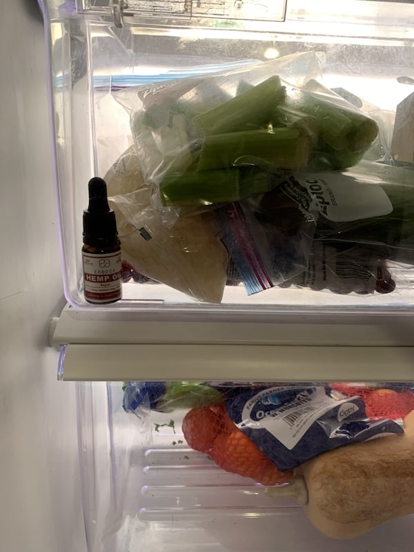 refrigerate CBD oil