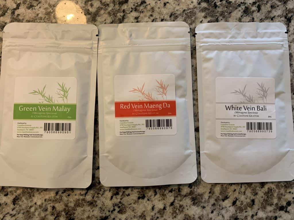 coastline kratom beginner pack