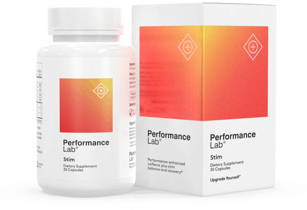 Performance Lab caffeine pills