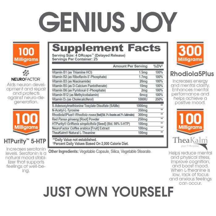 Genius Joy reviewed