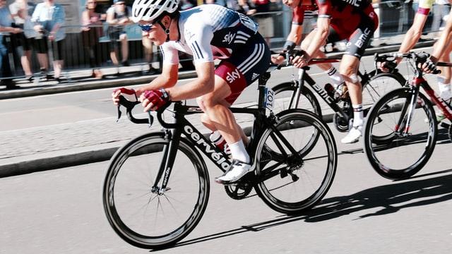 cyclist quadriceps