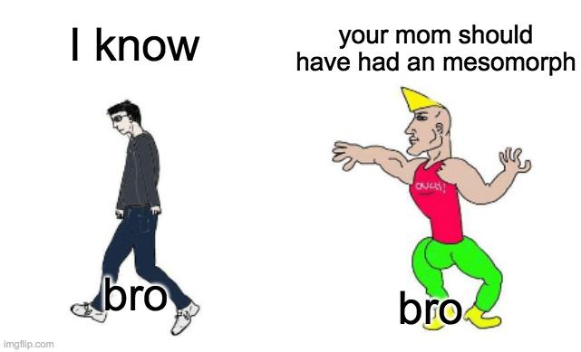 mesomorph meme
