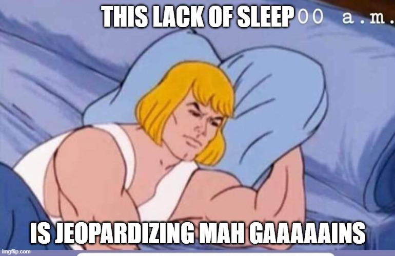 sleep impact on gains
