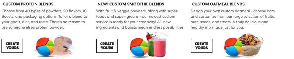 true nutrition custom blends review